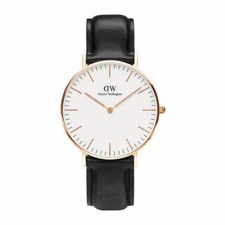 ダニエルウェリントン(Daniel Wellington)の【36㎜】ダニエル ウェリントン腕時計DW00100036〈3年保証付〉(腕時計)