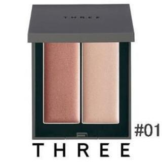 THREE - 新品 スリー シマリング グローデュオ #01 ハイライト