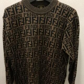 FENDI - FENDI  ロゴマークデザインセーター