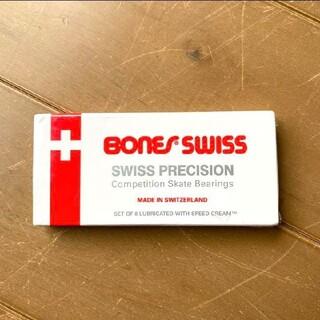【値下げ中】BONES SWISS ボーンズスイス スケートボード ベアリング(スケートボード)