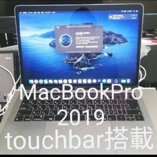 マック(Mac (Apple))のMacBookpro 2019 touchbar付き(ノートPC)