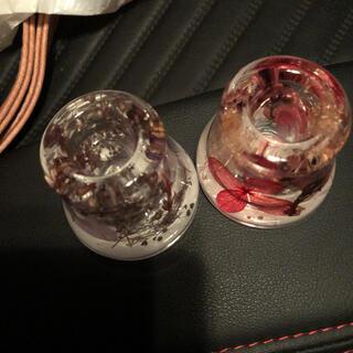 フランフラン(Francfranc)のハーバリウム トゥースブラシホルダー 2個(インテリア雑貨)