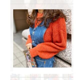 Chesty - リンカブル ニットセーター オレンジ
