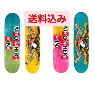 シュプリーム(Supreme)のSupreme ANTIHERO Skateboard 2個セット(スケートボード)