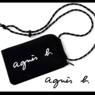 アニエスベー(agnes b.)のagnes b.ミニショルダーバッグ マルチケース 新品(ショルダーバッグ)