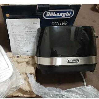 デロンギ(DeLonghi)のデロンギ ポップアップトースター ブラック(調理機器)