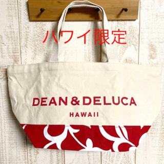 DEAN & DELUCA - 【処分セール】ディーン&デルーカ HAWAII トートバッグ レッド