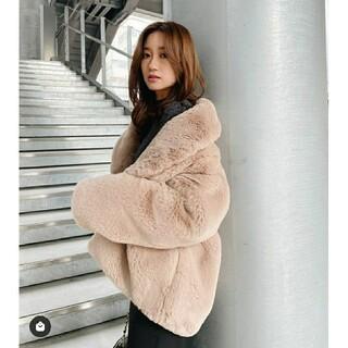 rienda - 新品 今期新作 rienda Faux FurショールカラーCT コート