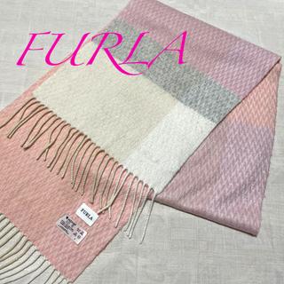 Furla - フルラ FURLA 可愛いカシミア入りマフラー