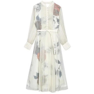 Ameri VINTAGE - 【11/30まで】完売品 ameri ELLA VEIL DRESS ホワイト