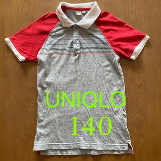 ユニクロ(UNIQLO)のユニクロ キッズ ポロシャツ 140(Tシャツ/カットソー)