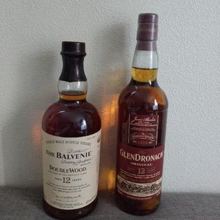 シングルモルトウイスキー2本セット(バラ売り不可)