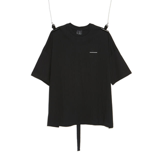 PEACEMINUSONE - peaceminusone PMO COTTON T-SHIRT#1 BLACK