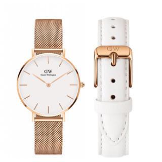 ダニエルウェリントン(Daniel Wellington)の【32㎜】ダニエル ウェリントン腕時計DW163+ベルトSET《3年保証付》(腕時計)