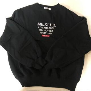MILKFED. - スウェット トレーナー