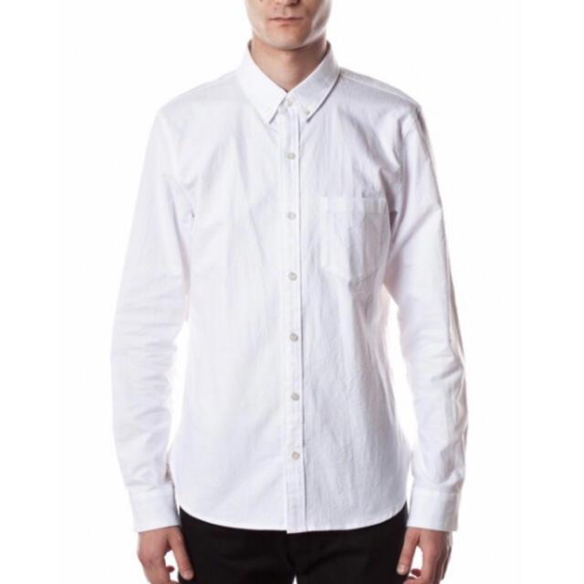 ATTACHIMENT(アタッチメント)のアタッチメント シャンブレーオックスフォードレギュラーシャツ ホワイト 2 メンズのトップス(シャツ)の商品写真
