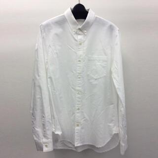 アタッチメント(ATTACHIMENT)のアタッチメント シャンブレーオックスフォードレギュラーシャツ ホワイト 2(シャツ)