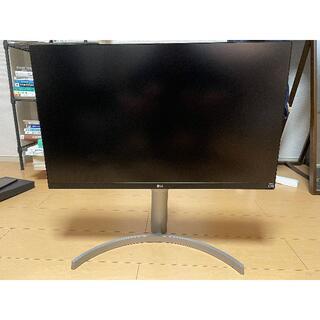 エルジーエレクトロニクス(LG Electronics)のLG モニター  IPS 4k 【27UK650-W】LCDリフレッシュ品(ディスプレイ)