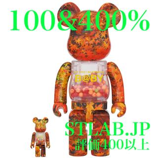 メディコムトイ(MEDICOM TOY)のBE@RBRICK B@BY AUTUMN LEAVES 100% & 400%(その他)
