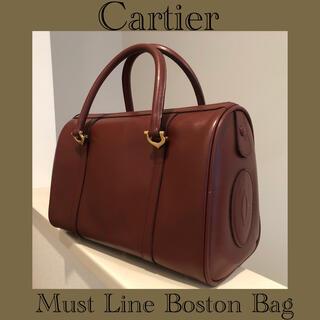 Cartier - ■レア仕様■カルティエ/マストライン/ハンドバッグ/ミニボストン/Cartier
