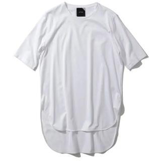 Demi-Luxe BEAMS - ATON エイトン スビン ラウンドヘム Tシャツ ホワイト