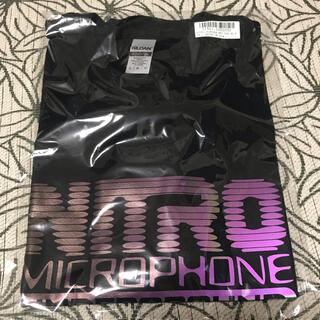 ナイトロウ(ナイトレイド)(nitrow(nitraid))のnitro ニトロ オーロラプリントTシャツ ブラック Lサイズ 新品未開封(Tシャツ/カットソー(半袖/袖なし))