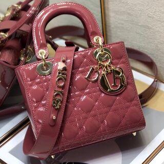 Christian Dior - 超美品 Dior レディディオール ハンドバッグ