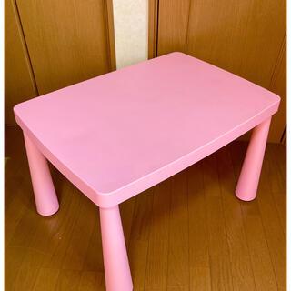 イケア(IKEA)の589-✴️ 【USED】IKEA  MAMMUT マンムット子供用テーブル(その他)