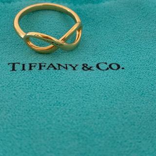 Tiffany & Co. - TIFFANY インフィニティ リング 18K 新品未使用品