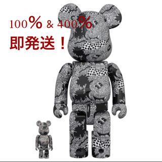 メディコムトイ(MEDICOM TOY)のBE@RBRICK Keith Haring Mickey Mouse 400%(その他)