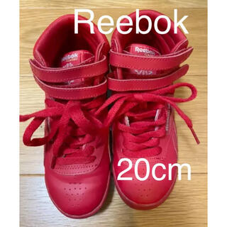リーボック(Reebok)のリーボック 20cm スニーカー 赤(スニーカー)