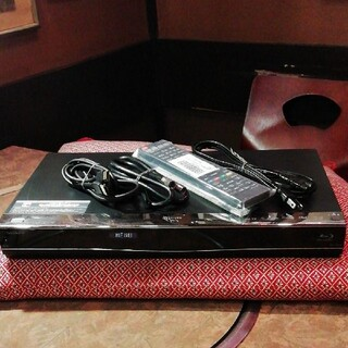 SHARP - SHARP BDW550 12倍録 2番組W録 500GB 外付HDD フル装備