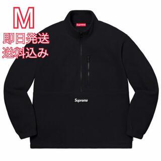 Supreme - M supreme Polartec Half Zip Pullover