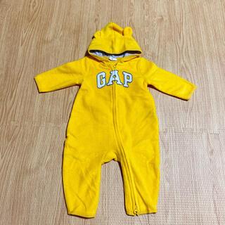 babyGAP - GAP ロンパース カバーオール ベビー服 3-6M フリース