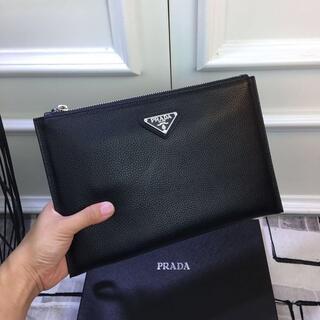 PRADA - Prada プラダ クラッチバッグ 28x17cm