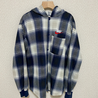 Supreme - Supreme Nike Plaid Hooded Sweatshirt