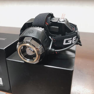ジェントス(GENTOS)のヘッドライト GH-100RG(ライト/ランタン)