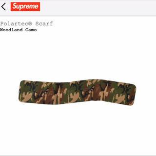 シュプリーム(Supreme)のSUPREME 19AW Polartec Scarf camo(マフラー)