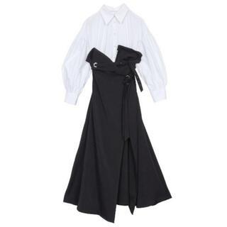 アメリヴィンテージ(Ameri VINTAGE)のAmeri 新品未使用 MILLEFEUILLE SHIRT DRESS(その他)