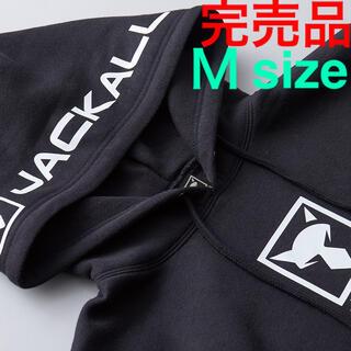 JACKALL - ジャッカル プルオーバーフーディ 完売品‼️ ブラック M size