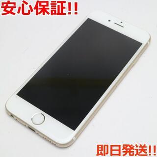 アイフォーン(iPhone)の美品 DoCoMo iPhone6S 64GB ゴールド 白ロム(スマートフォン本体)