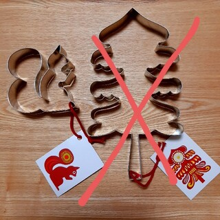 マリメッコ(marimekko)のmarimekko リスクッキー型(調理道具/製菓道具)