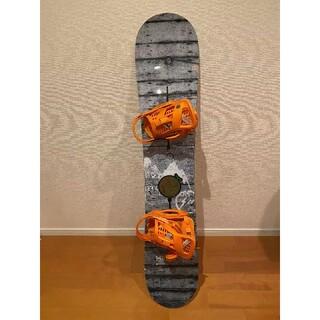 バートン(BURTON)のBurton x Fragment スノーボードセット 146cm(ボード)