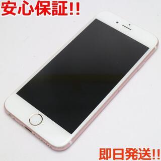 アイフォーン(iPhone)の良品中古 DoCoMo iPhone6S 64GB ローズゴールド (スマートフォン本体)