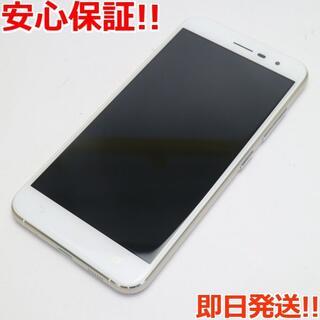 エイスース(ASUS)の新品同様 SIMフリー zenfone 3 ZE520KL ホワイト (スマートフォン本体)