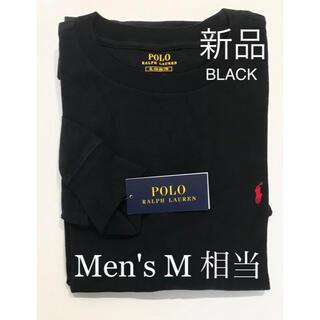 POLO RALPH LAUREN - 新品 メンズ ポロ ラルフローレン 長袖シャツ 黒 M size 相当