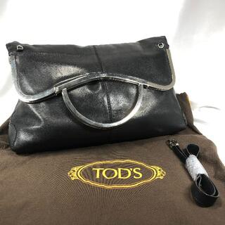TOD'S - 【美品】トッズ 2wayバッグ 黒