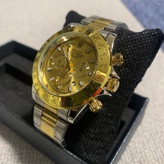 ROLEX - ロレックス ノベルティー腕時計 ゴールド&シルバー