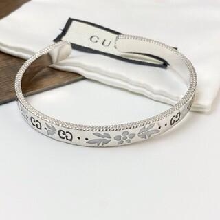 Gucci - 便利 美品 グッチ シルバー ブレスレット