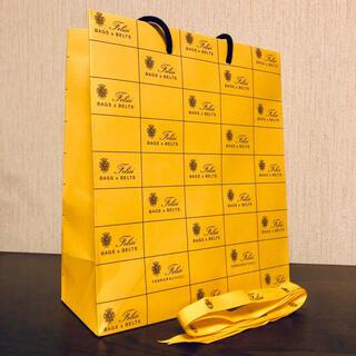 フェリージ(Felisi)のフェリージ⭐︎Felisi 紙袋・ショップ袋・ショッパー 中サイズ リボン付(ショップ袋)